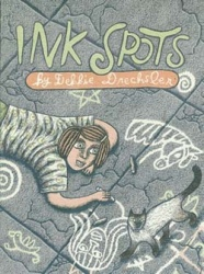 "Cover of ""Ink Spots"", Debbie Drechsler's first (self-published) graphic narrative"