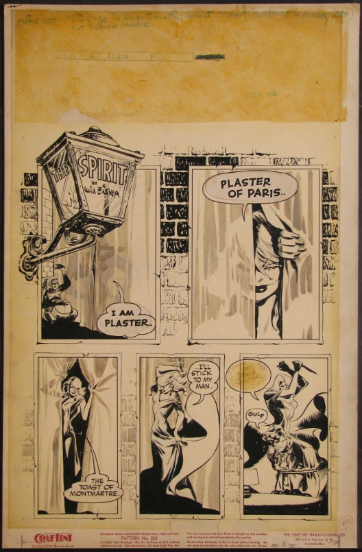 Eisner - The Spirit - Plaster of Paris 1