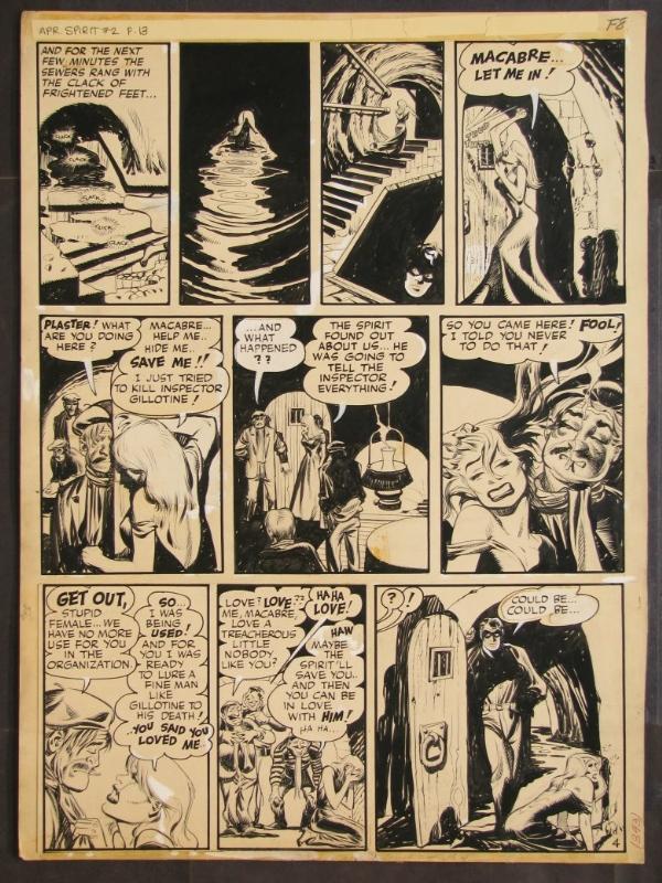 Eisner - The Spirit - Plaster of Paris 4