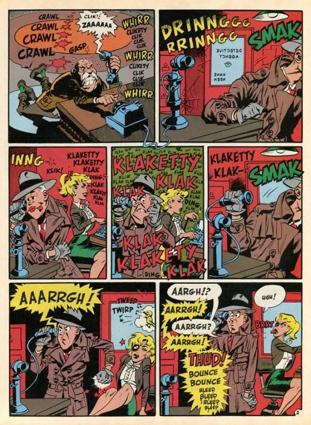 "SOUND EFFECTS!"" by Harvey Kurtzman & Wally Wood, USA, 1955"