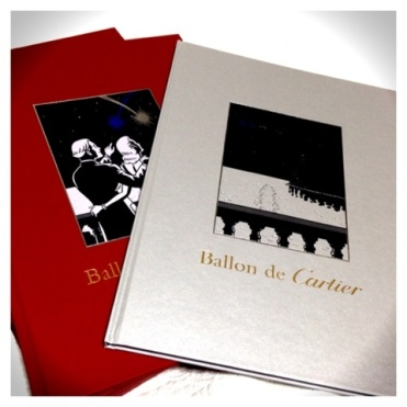"""The most luxurious comic book in the world"", 'Ballon de Cartier' published for the new watch ""Ballon Blanc"" by Cartier (with Kan Takahama, Nadja, Posy Simmonds, Rébecca Dautremer, and Floc'h)"
