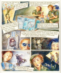 "Page from ""Live Broadcast"" - ©2008 Miriam Katin"