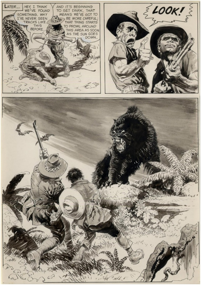 Frazetta - Creepy 1 - Werewolf