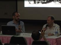 Public Talk: Yours truly with Mr. David Lloyd