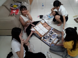 """Mounting the exhibition """"Traumics: a Medium of Fragments for a Shattered Mind"""" displaying 18 Trauma-related comics narratives composed by students at Chulalongkorn University."""
