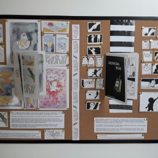 Traumics (Trauma-related comics) composed by students at Chulalongkorn University.