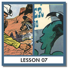 """Jerry Spring"" by Jijé (BE) & Lob (FR), and ""Lucky Luke"" by Morris (BE) & René Goscinny (FR)"