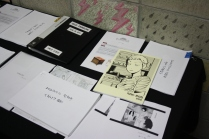 Student's manhwa project at the Department of Animation, K'Arts, Seoul.