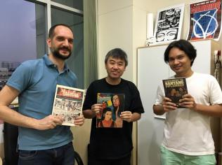 A week before the field trip, great discussion at CommArts on Thai, Singaporean and ASEAN comics & cartoons with Lim Cheng Tju and CommArts alumnus Albert Potjes!