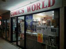 Comics Shopping Day in Singapore; at GnB Comics, at Comics World, and at Kinokuniya.