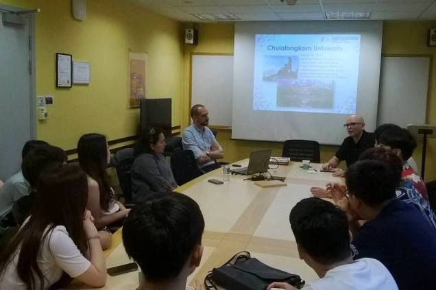 Discussion with Associate Professor Dr. Ian Gordon, Head of the Department of History (NUS).