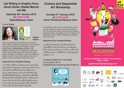 Lorina Mapa's Public Talk & Comics Workshop