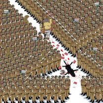 #Artofthepanther by Thai cartoonist Puck