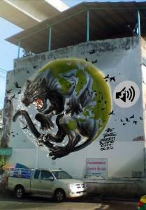 #Artofthepanther by Thai artist Zing.