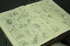 Marsupilami comics layouts by CommDe student Darnis.