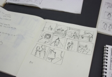 """Why don't you dance?"" 10-panel storyboard by student Plue."