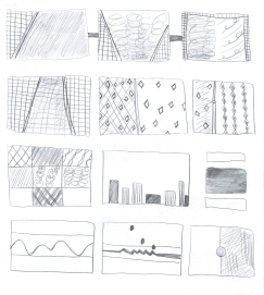 """Grid and Gestures"" by Japanese student Rika"